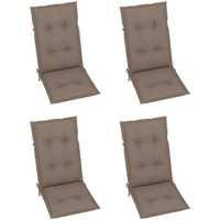 Maison & Déco Galettes de chaise VidaXL Coussin de chaise de jardin 120 x 50 x 7 cm Taupe