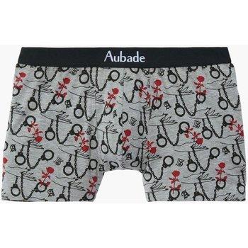 Sous-vêtements Homme Boxers Aubade AUBADEMEN Boxer Homme Coton Modal HANDCUFFS Souris Gris