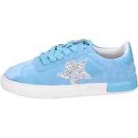 Chaussures Fille Baskets basses Holalà BH09 Bleu
