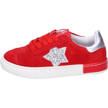 Chaussures Fille Baskets basses Holalà BH10 Rouge