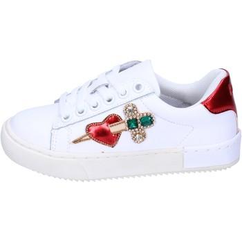 Chaussures Fille Baskets basses Holalà BH12 Blanc
