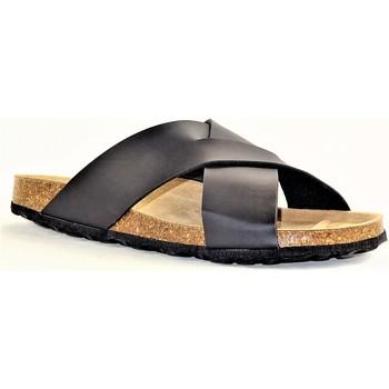 Chaussures Homme Mules La Maison De L'espadrille MULEESPA NOIR