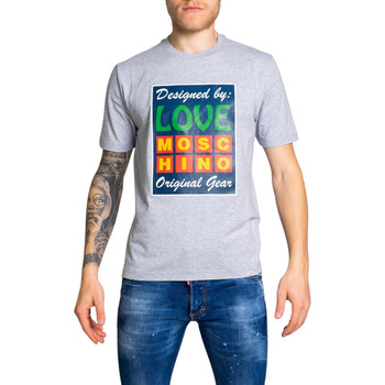 Vêtements Homme T-shirts manches courtes Love Moschino LOVTSHUAAC1ST0488001/09 Gris