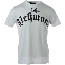 Vêtements Homme T-shirts manches courtes John Richmond HMA20102TS Blanc