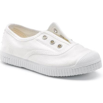 Chaussures Fille Baskets basses Cienta 70997 Blanc