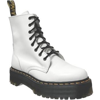 Chaussures Femme Boots Dr Martens Jadon Blanc cuir