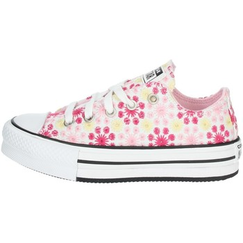 Chaussures Fille Baskets basses Converse 671285C Rose