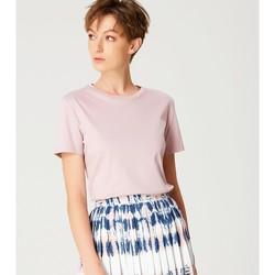 Vêtements Femme T-shirts manches courtes Smart & Joy Studio Rose parme