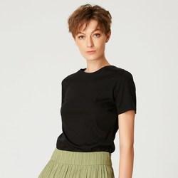 Vêtements Femme T-shirts manches courtes Smart & Joy Studio Noir