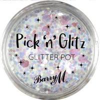 Beauté Femme Accessoires ongles Barry M Pick N Glitz Paillettes en pot Lit Blanc