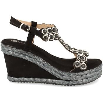 Chaussures Femme Sandales et Nu-pieds H&d N156 Negro