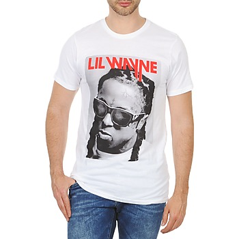 Vêtements Homme T-shirts manches courtes Eleven Paris APY M Blanc