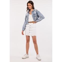 Vêtements Femme Vestes en jean Toxik3 Blouson - Lune Bleu jean clair