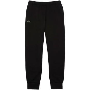 Vêtements Homme Pantalons de survêtement Lacoste Bas de Jogging  ref 52095 Noir Noir