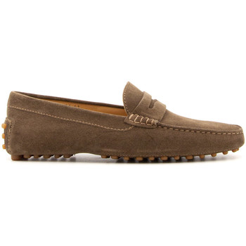Chaussures Homme Mocassins Il Mocassino 5501-TAUPE MARRONE