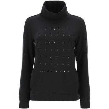 Vêtements Femme Sweats Freddy - Felpa nero F0WBCS1-N NERO