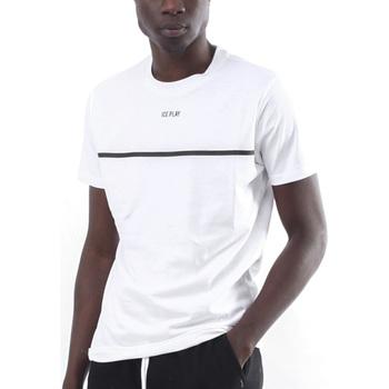 Vêtements Homme T-shirts manches courtes Ice Play - T-shirt bianco F017 P400 1101 BIANCO
