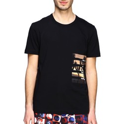 Vêtements Homme T-shirts manches courtes Ice Play - T-shirt nero F088 P400 9000 NERO
