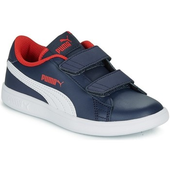 Chaussures Garçon Baskets basses Puma - Smash v2 l blu/bianco 365173-13 LU