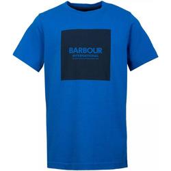 Vêtements Homme T-shirts manches courtes Barbour - T-shirt blu MTS0540-BL54 BLU