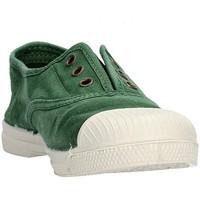 Chaussures Garçon Baskets basses Natural World - Scarpa elast verde 470E-689 VERDE
