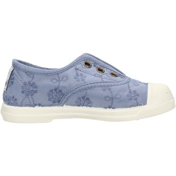 Chaussures Garçon Tennis Natural World - Slip on  blu 474-590 BLU
