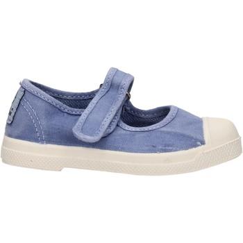 Chaussures Fille Baskets mode Natural World - Ballerina blu 476E-690 BLU