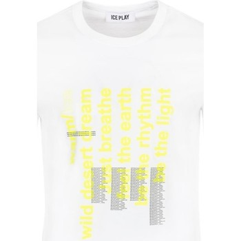 Vêtements Homme T-shirts manches courtes Ice Play - T-shirt bianco F085 P400 1101 BIANCO