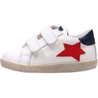 Chaussures Garçon Baskets basses Falcotto - Sneaker bianco ASPASIA VL-1N09 BIANCO