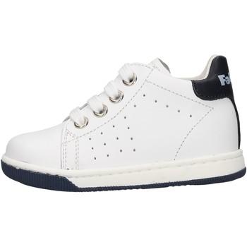 Chaussures Garçon Baskets basses Falcotto - Polacchino bianco ADAM-1N07 BIANCO
