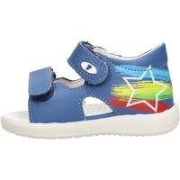 Chaussures Garçon Sandales et Nu-pieds Falcotto - Sandalo azzurro BARRAL-0C03 AZZURRO