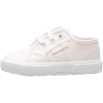 Chaussures Garçon Baskets basses Superga - 2750 lameb bianco S0028T0 2750 956 BIANCO