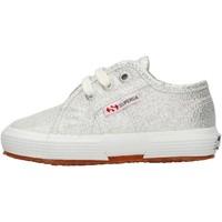 Chaussures Garçon Baskets basses Superga - 2750 lameb argento S0028T0 2750 031 ARGENTO
