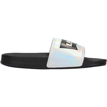Chaussures Garçon Claquettes Levi's - Ciabatta  nero/arg VPOL0060S-3023 NERO ARGENTO