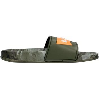 Chaussures Garçon Claquettes Levi's - Ciabatta verde/camo VPOL0070S-1785 VERDE CAMO