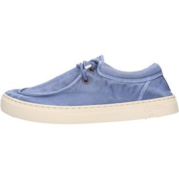 Chaussures Homme Mocassins Natural World - Sneaker celeste 6605E-690 CELESTE