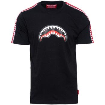 Vêtements Garçon T-shirts manches courtes Sprayground - T-shirt nero 20SPY374 NERO
