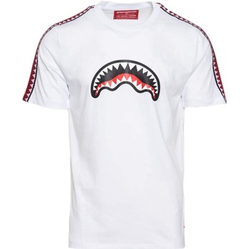 Vêtements Garçon T-shirts manches courtes Sprayground - T-shirt bianco 20SPY374 BIANCO