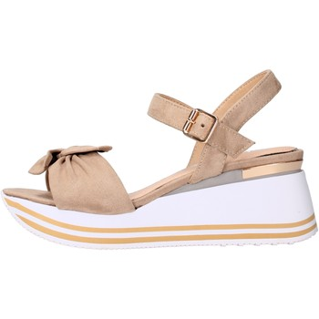 Chaussures Femme Sandales et Nu-pieds Valleverde - Sandalo beige 45340 BEIGE