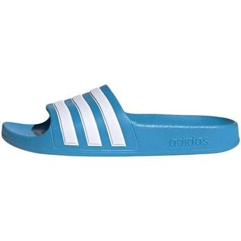 Chaussures Garçon Claquettes adidas Originals - Adilette blu FY8071 AZZURRO