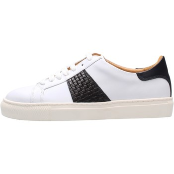 Chaussures Homme Baskets basses Soldini - Sneaker bianco/blu 22309-3-VF2 BIANCO