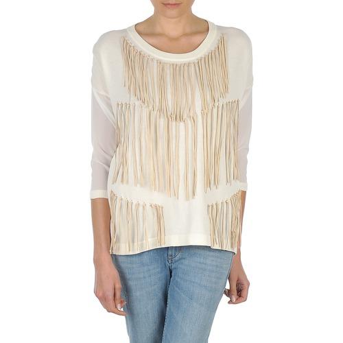 Vêtements Femme T-shirts manches longues Eleven Paris ANGIE Blanc