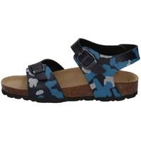 Chaussures Garçon Sandales et Nu-pieds Evoca EJ610B BLEU