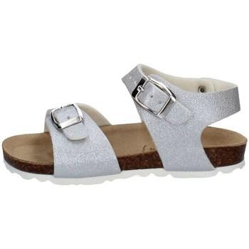 Chaussures Fille Sandales et Nu-pieds Evoca EJ307A ARGENT