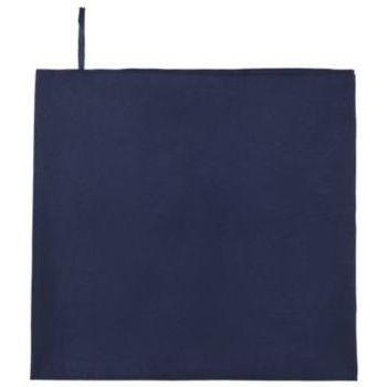 Maison & Déco Serviettes et gants de toilette Sols ATOLL 100 French Marino Azul