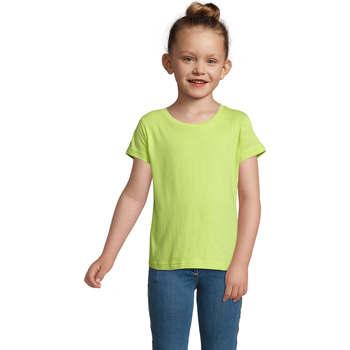 Vêtements Fille T-shirts manches courtes Sols CHERRY Verde Manzana Verde