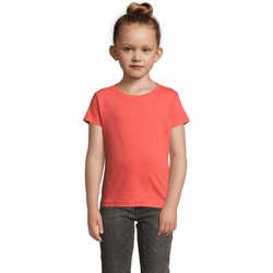 Vêtements Fille T-shirts manches courtes Sols CHERRY Coral Otros