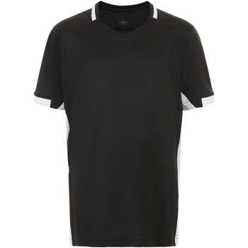 Vêtements Garçon T-shirts manches courtes Sols CLASSICOKIDS Negro Blanco Negro