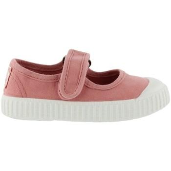 Chaussures Enfant Tennis Victoria Baskets enfant  1915 mercedes toile teintée rose foncé