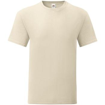 Vêtements Homme T-shirts manches courtes Fruit Of The Loom 61430 Beige
